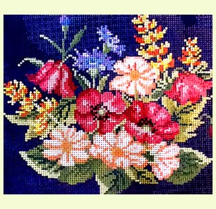 Sunflower Needlepoint